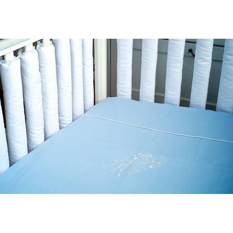 Мастерская Облаков Комплект постельного белья Zodiac Blue
