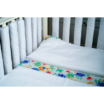 Малыши, Комплект постельного белья Aquarelle Мастерская Облаков (белый)639798, фото