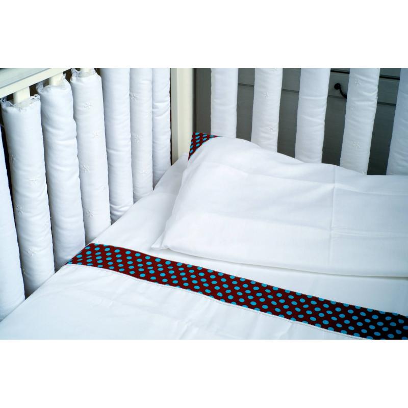 где купить Мастерская Облаков Комплект постельного белья Turquoise Dot по лучшей цене