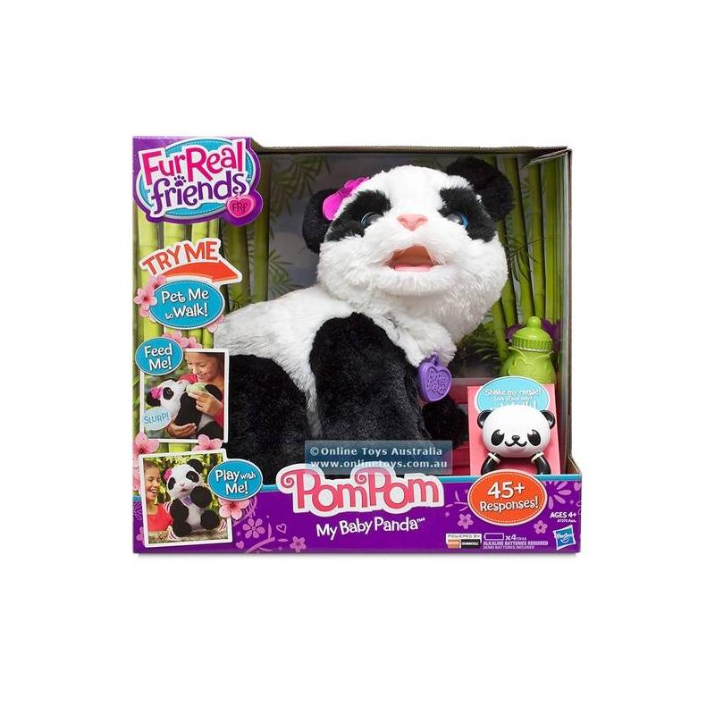 Игрушка Fur Real Friends Малыш Панда от Nils