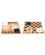 Игра шахматы шашки нарды Мега Тойс