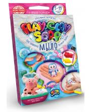 Набор креативного творчества Пластилиновое Мыло серии Play Clay Soap Данко-Тойс