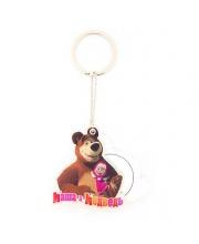 Брелок с Зеркальцем Маша и Медведь Cut the Rope