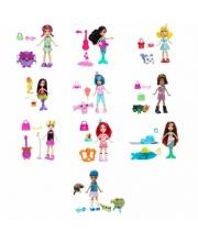 Кукла и Вымышленные Животные Polly Pocket в ассортименте Mattel