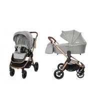Детская коляска Epica Silver Grey