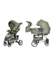 Детская коляска 2в1 Vista Olive Green CARRELLO