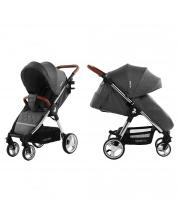 Детская коляска Milano Solid Grey