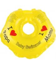 Круг на шею Желтый BS21Y