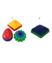 Формы двуцветные для игр в песке пластик