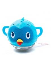 Мягкая Погремушка Птичка Синяя