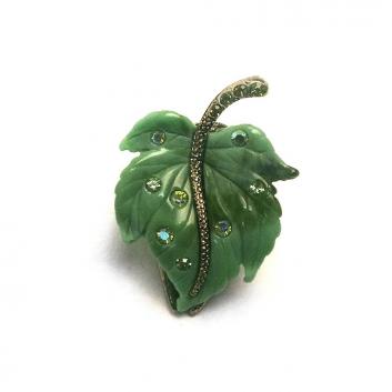 Аксессуары, Заколка-краб Infinity Art (зеленый)639824, фото