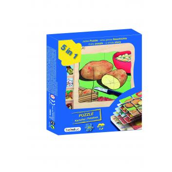 Игрушки, Развивающий пазл Картофель 30 деталей Beleduc 640311, фото