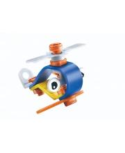 Конструктор гибкий Вертолет 14 деталей FUN RED