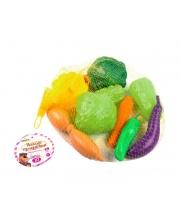Набор продуктов Овощной микс 10 предм в сетке