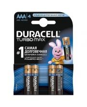 Батарея Duracell Turbo Max Lr03 С Индикатором Заряда Bl4