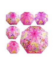 Зонтик со свистком 50 см 6 видов
