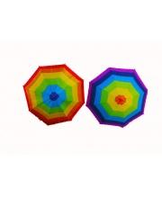 Зонтик со свистком 50 см 3 цвета в ассортименте SHAGNV CITY