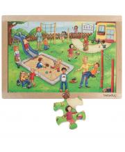 Развивающий пазл Детский сад 24 детали Beleduc