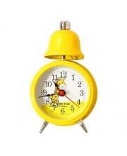 Часы Настольные Тик-Так Жёлтый Б-825