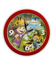 Часы Настенные Маша и Медведь День Маляра