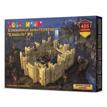 Игрушки, Конструктор Крепость №2 ЛЕСОВИЧОК 634280, фото