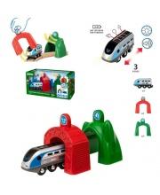 Smart Tech Набор электропоезд и туннели BRIO