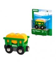 Вагончик с сеном 2 элементов BRIO
