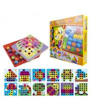 Игродром Мозаика для малышей Кнопик 46 кнопок 1Toy