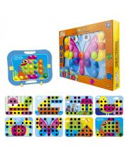 Мозаика для малышей Кнопик 48 кнопочек 1Toy