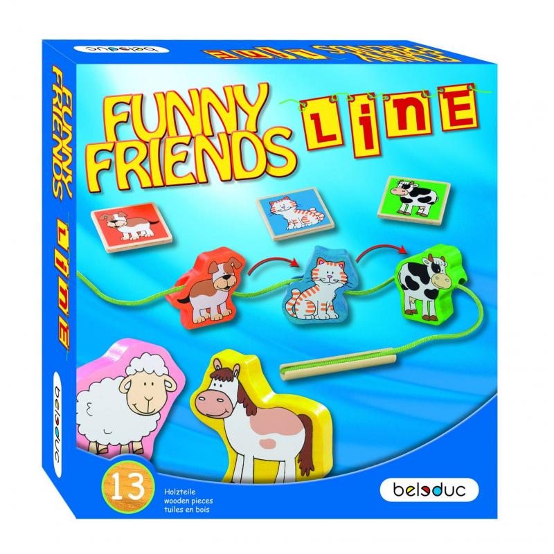 Beleduc Развивающая игра Веселые друзья