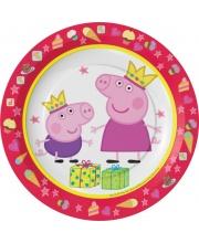 Набор тарелок Пеппа Принцесса 18 см