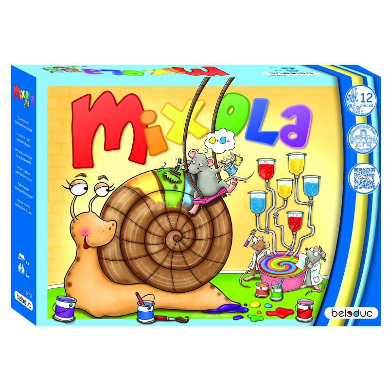Beleduc Развивающая игра Миксиола beleduc развивающая игрушка зоопарк