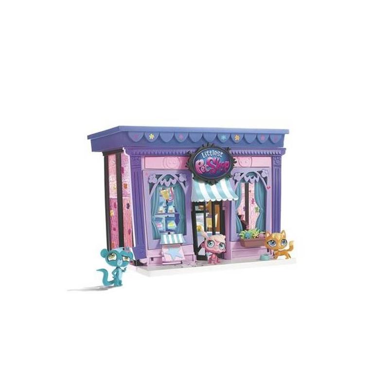 Набор Littlest Pet Shop Стильный зоомагазин