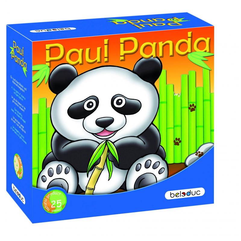 Развивающая игра Веселая панда - BeleducРазвивающая игра Веселая панда марки Beleduc.<br>Веселая панда голодна и, конечно же, хочет выиграть игру, но это будет зависеть от того, как игрок будет действовать при посадке бамбуковых палочек и сможет ли накормить панду. Эта милая игра поможет игрокам лучше понять природу и стать более осведомленными о своей среде. Игроки выполняют различные действия, которые определяются с помощью диска со стрелкой. Они могут посадить бамбук или накормить панду, но иногда они также должны сокращать количество бамбука.<br>Развивающая игра включает35 деталей: 1 коробка с изображением панды, 1 деревянный волчок со стрелкой, 24 палочки 3 размеров (90, 120, 150 мм.), 10 бамбуковых листьев.<br>Материал: береза.<br><br>Возраст от: 4 года<br>Пол: Не указан<br>Артикул: 640313<br>Бренд: Германия<br>Размер: от 4 лет<br>Материал: Дерево