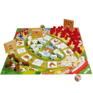 Игрушки, Развивающая игра Веселая ферма 2 Beleduc 640323, фото
