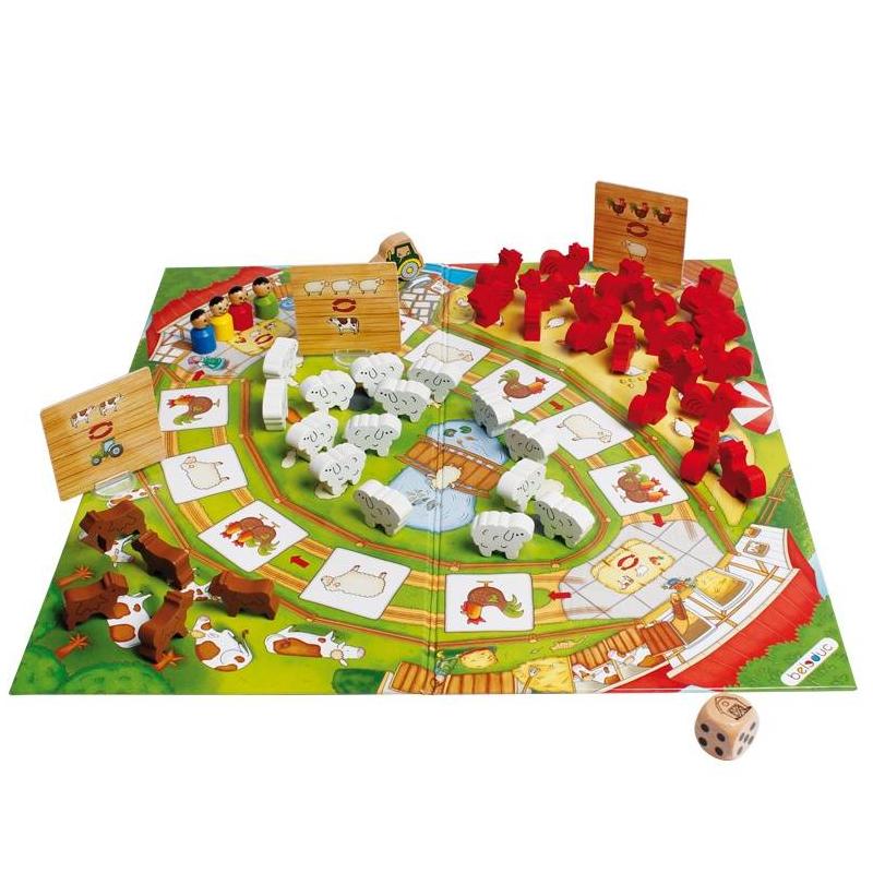 Beleduc Развивающая игра Веселая ферма 2