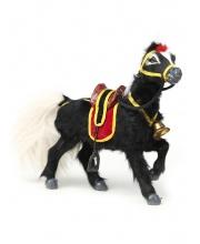 Лошадь L с седлом черного цвета Vebtoу