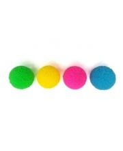Мяч прыгун Пом-пон со светом в ассортименте