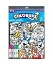 Раскраска ColorUps с Фломастерами Большая SAVVI