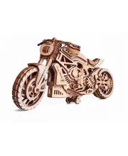 Механическая сборная модель Мотоцикл DMS Wood Trick