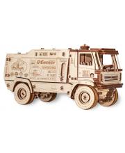 Конструктор деревянный 3D МАЗ-5309RR Eco Wood Art