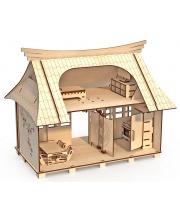 Конструктор-кукольный домик Сакура ХэппиДом