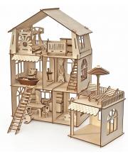 Конструктор-кукольный домик Коттедж ХэппиДом