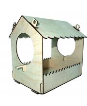 Конструктор деревянный Кормушка для птиц малая Древо Игр