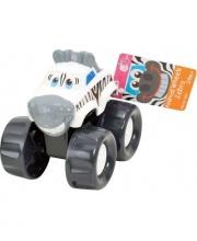 Развивающая игрушка Машинка-зебра PlayGo