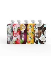 Набор многоразовых пакетов 5 штук для детского питания Squeeze Bag 100 мл