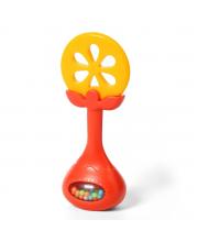 Прорезыватель-Погремушка Juicy Orange BabyOno
