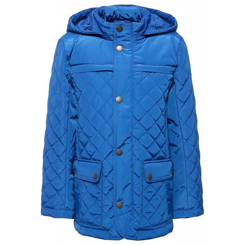КурткаКуртка синего цвета марки Finn Flare для мальчиков.<br>Стильная стеганая куртка выполнена в насыщенном цвете, на плече имеется нашивка с логотипом. Модель дополнена отстегивающимся капюшоном и шестьювнешними карманами, а такжеодним внутренним.<br><br>Размер: 11 лет<br>Цвет: Синий<br>Рост: 146<br>Пол: Для мальчика<br>Артикул: 640454<br>Страна производитель: Вьетнам<br>Сезон: Весна/Лето<br>Состав: 100% Полиэстер<br>Состав подкладки: 100% Полиэстер<br>Бренд: Финляндия<br>Вид застежки: Молния<br>Наполнитель: 100% Полиэстер