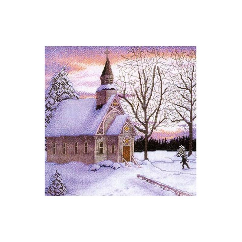 Белоснежка Набор для вышивания Церковь vervaco набор для вышивания лицевой стороны наволочки белый шиповник 40 40см