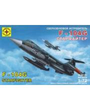Модель Сверхзвуковой истребитель F-104G Старфайтер МОДЕЛИСТ